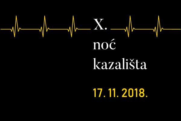 Image result for noć kazališta 2018