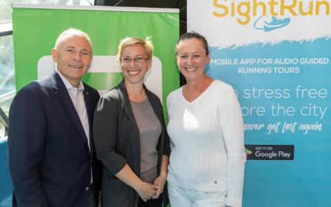 Christian Purrer, Susanne Höller, Sandra Bortek, Copyright: Energie Steiermark