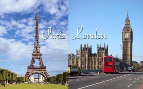 Pariz, London