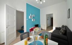 Blue apartman